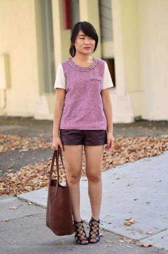 daily disguise bag shirt shorts shoes