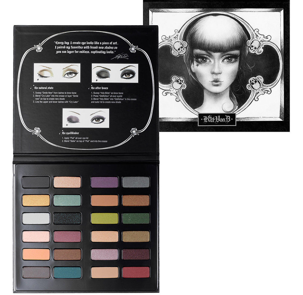 NEW KAT VON D Spellbinding Eye Shadow Book Palette Limited Edition