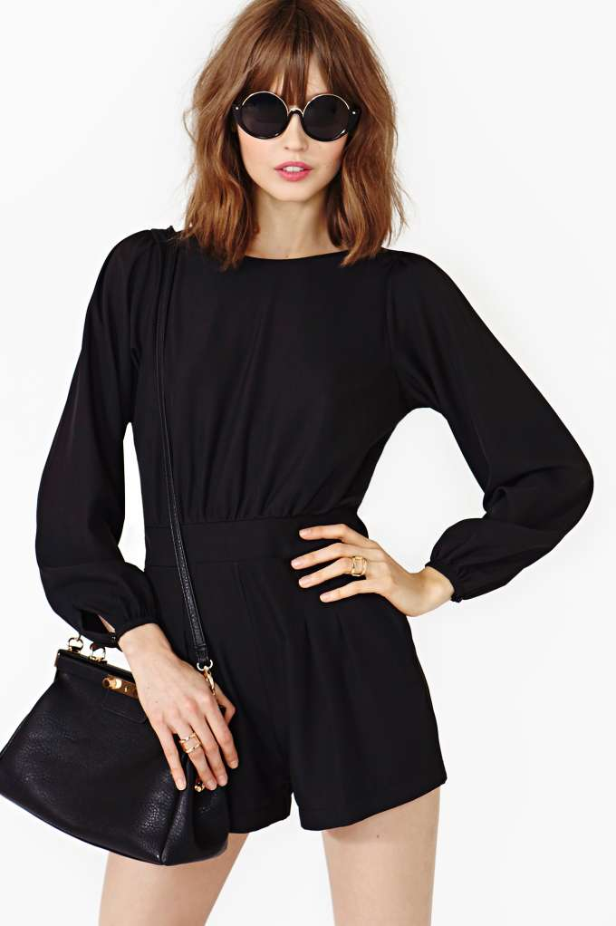 Motel Gabriella Romper  in  Clothes Back In Stock Bottoms at Nasty Gal