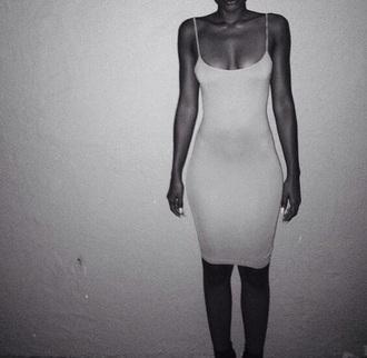 dress strappy dress bodycon dress spaghetti strap maxi dress