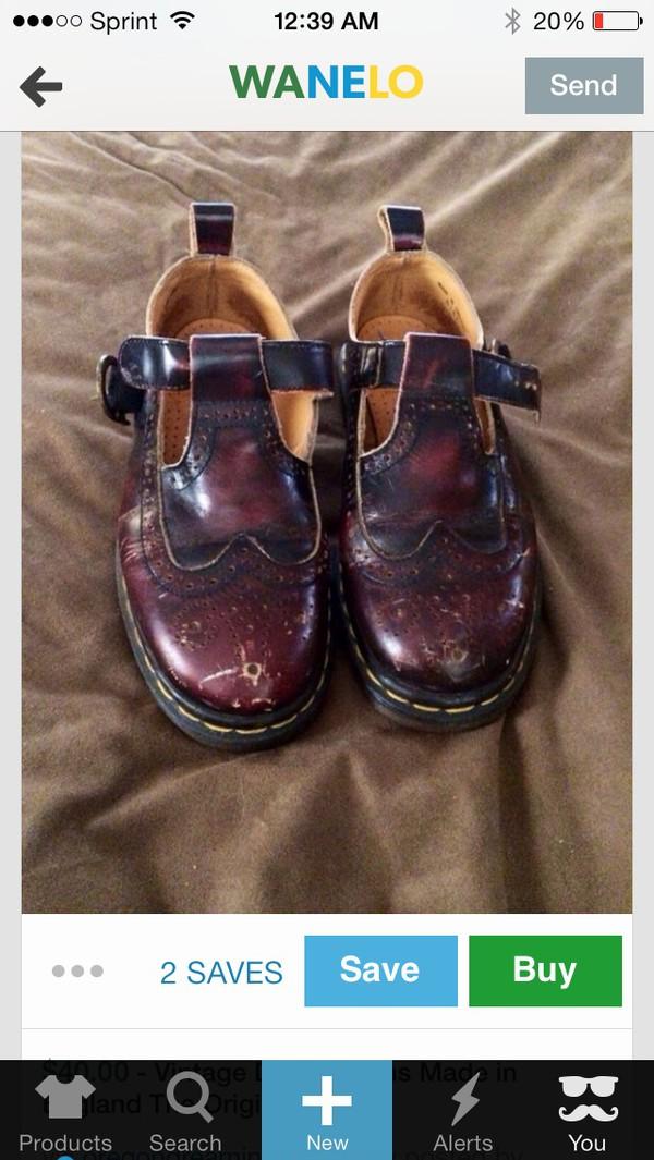 shoes vintage DrMartens doc martins