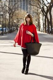 cape,mahayanna,red jacket,jacket