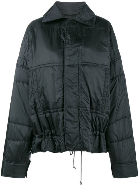 jacket bomber jacket women quilted cotton black