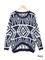Tribal shelle sweater