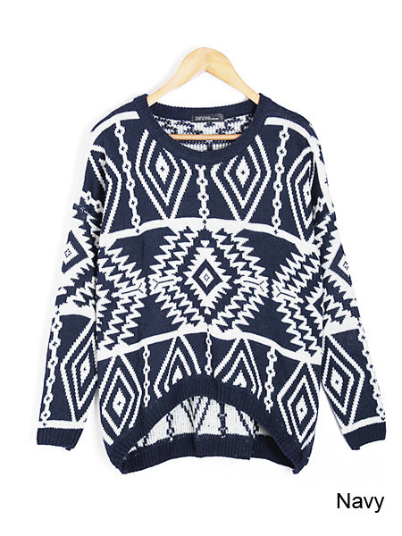 Tribal shelle sweater