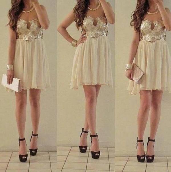 dress prom dress beige dress clothes clothes shoes