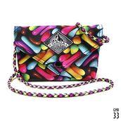 bag,shoulder bag,mini bag,girls bag,colorful,candy,print,bags and purses