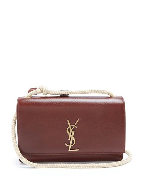 Saint Laurent bag shoulder bag leather tan