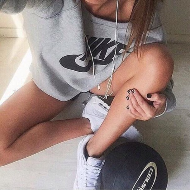 jumpsuit nike sweater shoes