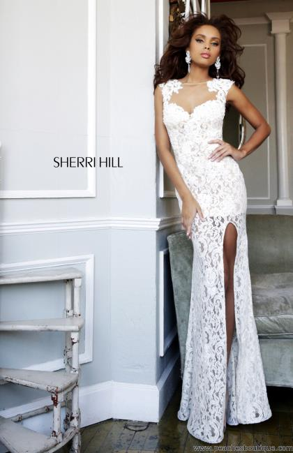 Sherri Hill Prom Dress 4316 at Peaches Boutique