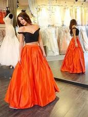 dress,prom,prom dress,two piece dress set,two-piece,orange,orange dress,orange skirt,boho dress,maxi,maxi dress,long,long dress,black,black dress,sexy,sexy dress,cute,cute dress,wow,amazing,pretty,trendy,style,sparkle,shiny