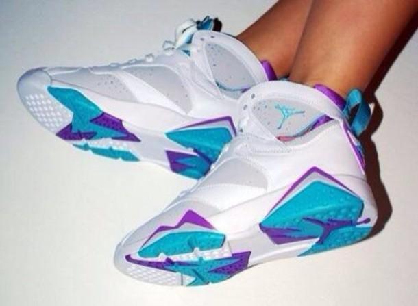 4cbd386047ffe0 air jordan 7 retro blue and purple