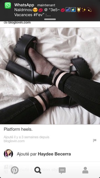 shoes black shoes heels