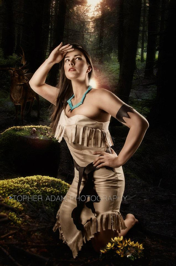 Custom pocohontas adult costume by bbeauty79 on etsy