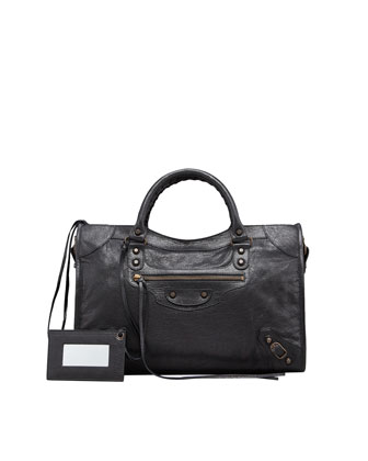 Balenciaga Classic City Bag, Black - Neiman Marcus