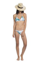 swimwear,sapia simone,triangle bikini,minimal coverage,adjustables straps,triangle top,tropical prints