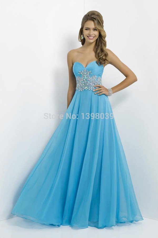 chiffon prom dresses 2014 long party dress gowns