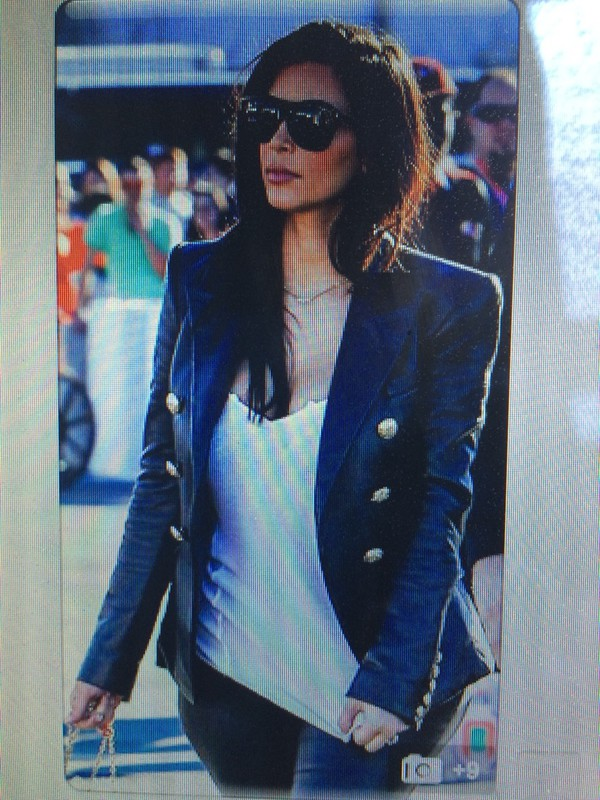 jacket kim kardashian leather jacket