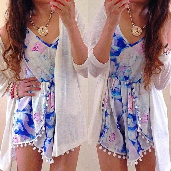 blouse maxi dress