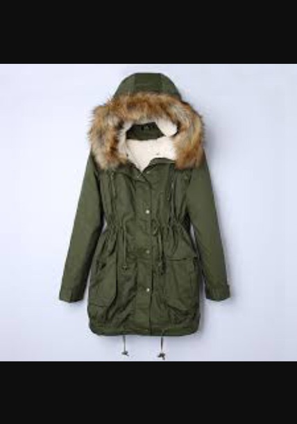 jacket green jacket winter outfits
