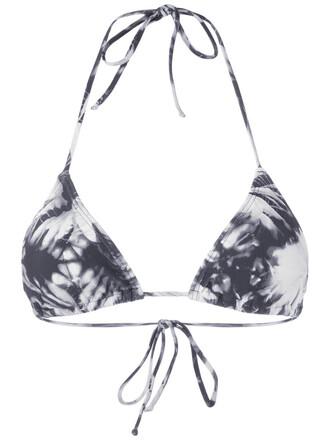 bikini triangle bikini triangle women blue swimwear