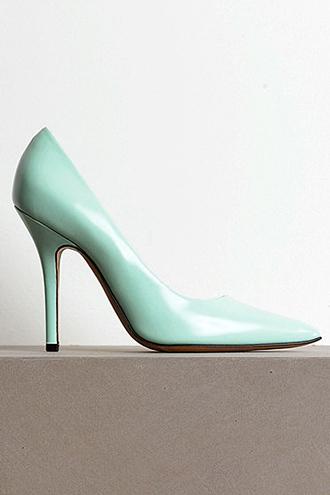 mint stilettos high heels elegant pastel