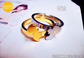 jewels,ring,disney,mickey mouse,gold,bronze,bff