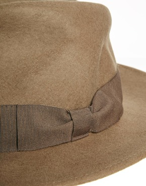 Catarzi | Catarzi Exclusive to ASOS Fedora with Bow Ribbon at ASOS