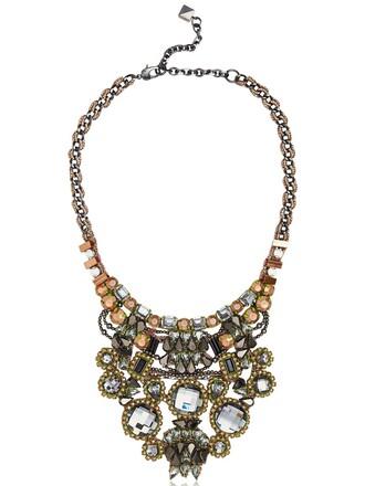 necklace copper rose gold rose gold jewels