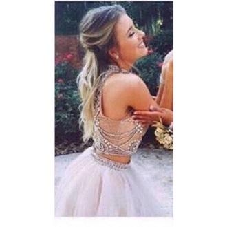 dress prom dress white sparkle white prom dress skirt top sparkly prom dress
