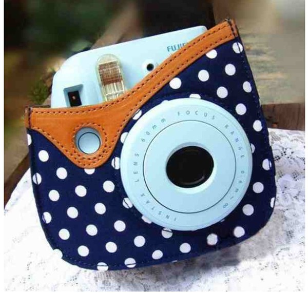 phone cover phone cover fujifilm polka dots photography hipster girly