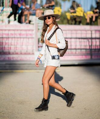 bag long sleeve romper white romper romper boots black boots backpack louis vuitton sunglasses hat