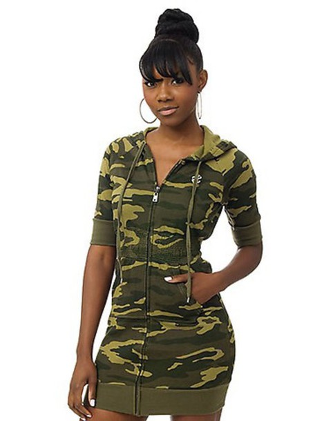 coat camouflage