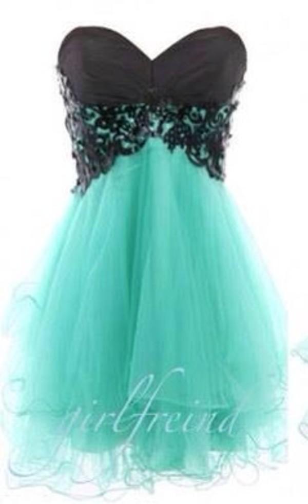 dress blue dress little black dress short prom dress puffy