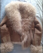 coat,nude,fluffy,fur,faux fur,brown,beige