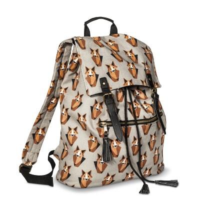 Mossimo Supply Co. Fox Backpack Handbag - Gray