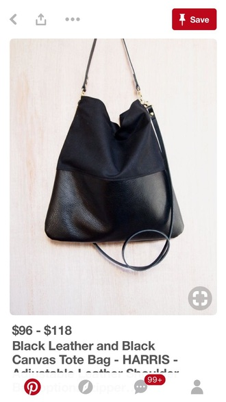 bag harris black leather