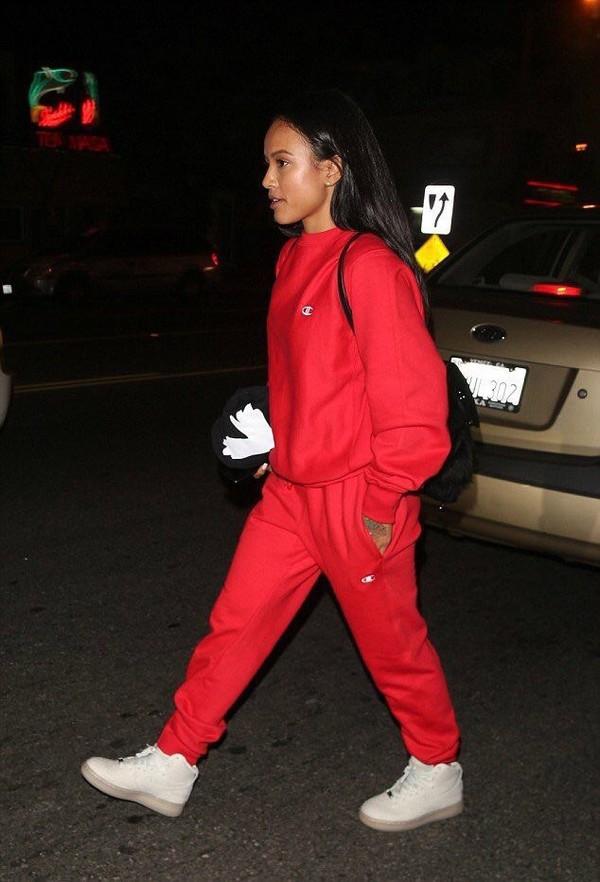 sweater red sweatshirt champion