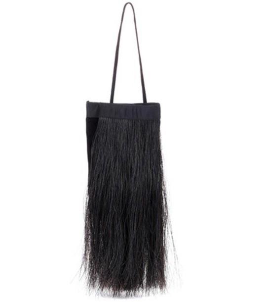 Helmut Lang hair horse black bag