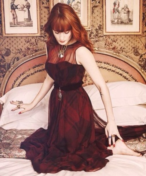 dress burgundy burgundy wine red blood red burgundy dress florence and the machine