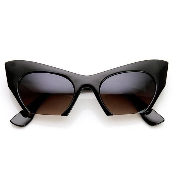 Cut close cat eye sunglasses – flyjane