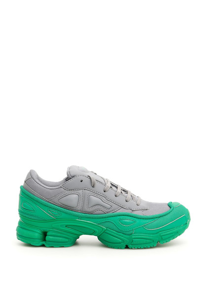 Adidas By Raf Simons Unisex Ozweego Sneakers in grey / green