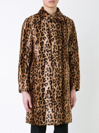 coat leopard print