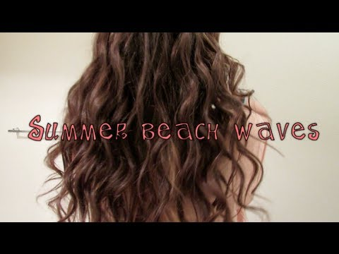 Summer Beach Waves! - YouTube