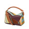 Puzzle stripes bag multicolour - loewe