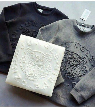 sweater kenzo tiger kenzo sweater grey sweater white sweater black sweater texture crop sweater in white crop crop tops graphic tee graphic crop tops quote on it graphic top white black grey cute grunge classy cool girl dope vintage clothes style trendy stylish blogger tumblr tumblr sweater tumblr outfit tumblr girl on point clothing fashion top cosy sweaters luxury dress sportswear black dress kenzo patte de tigre pinterest lion cool sweater nice nice outfit modern brand 3d sweatshirts