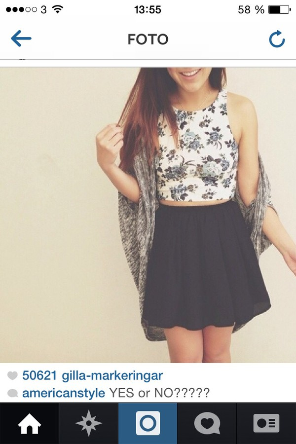 skirt black skirt long skirt cardigan outfit floral tank top black skirt till your knees summer outfits tank top