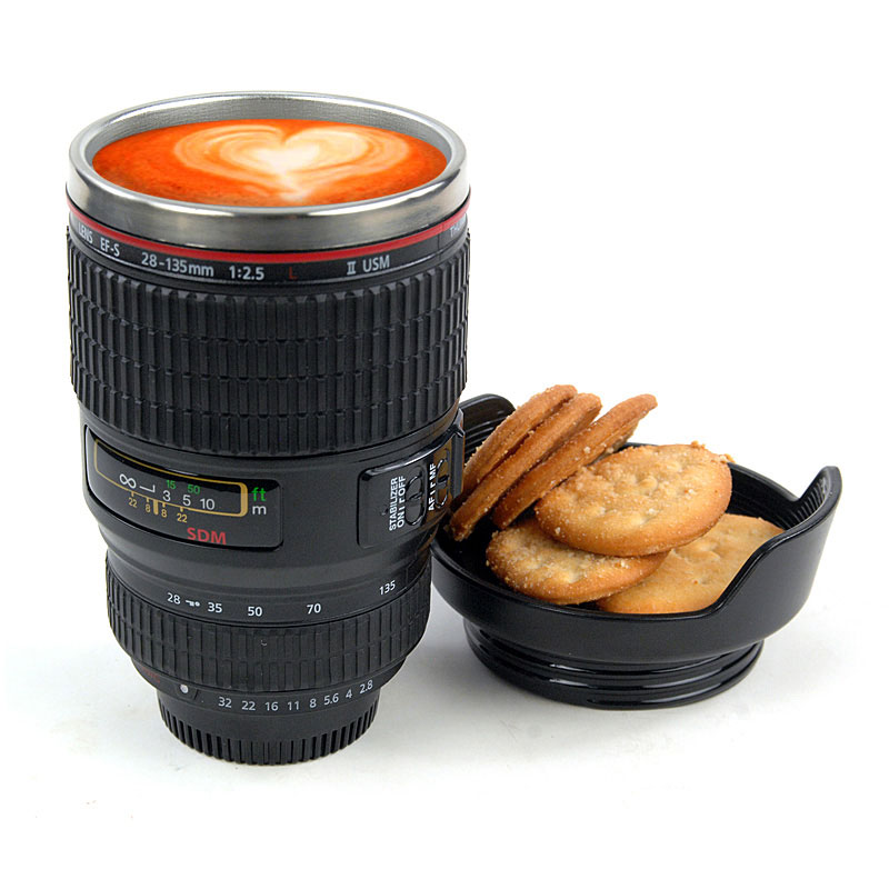 Creative Travel Camera Lens Mug &Coffee Cup on Luulla