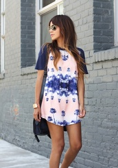 dress,t-shirt,colorful,shirt,tank top,island,tropical,tee dress,floral,clothes,homecoming dress