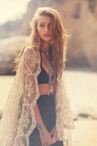 cardigan lace hipster tumblr grunge skirt